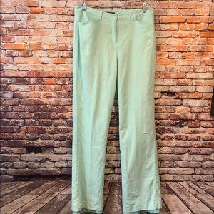 Aqua blue Chadwick's of Boston linen pants